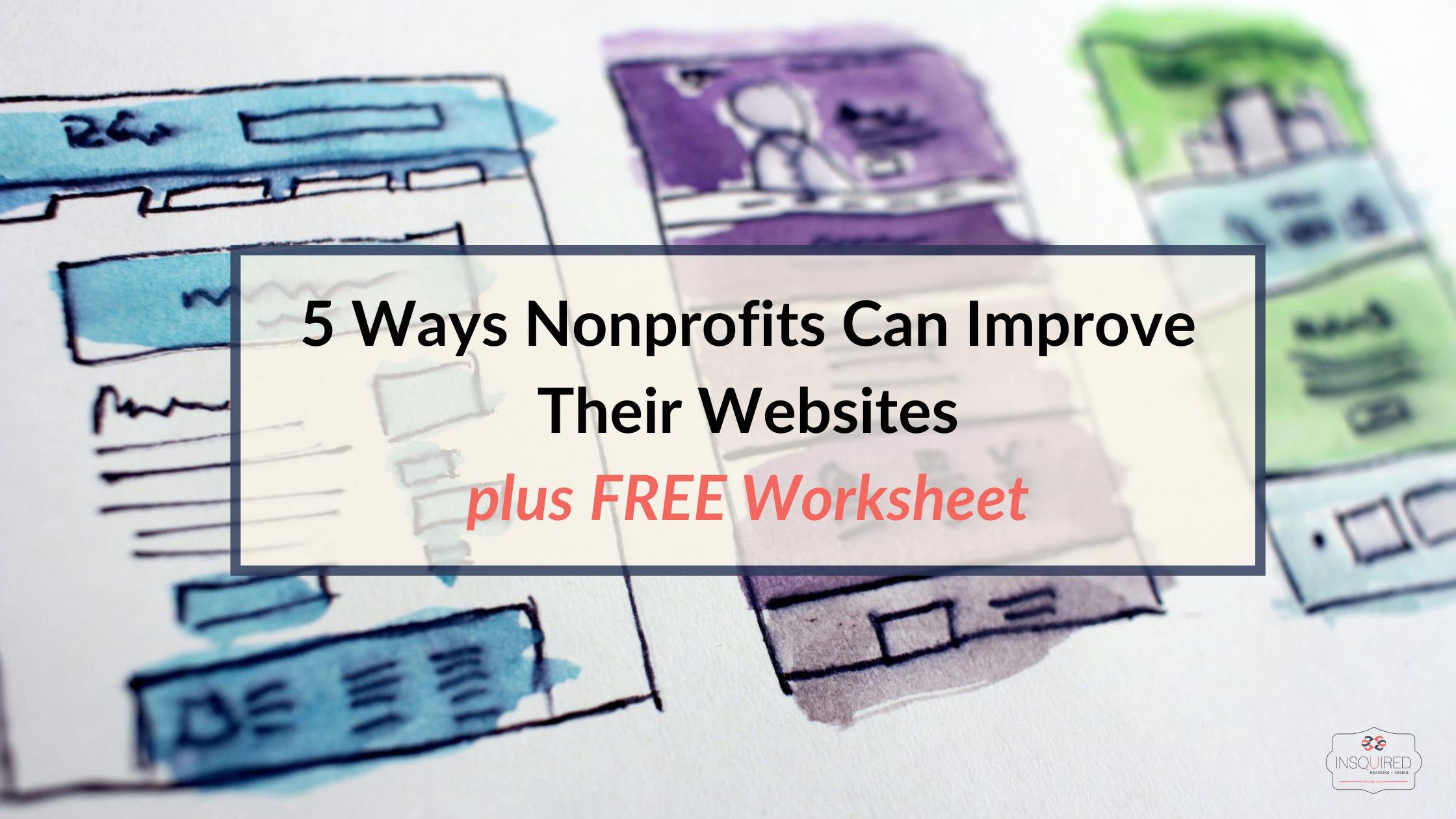 Nonprofit Websites