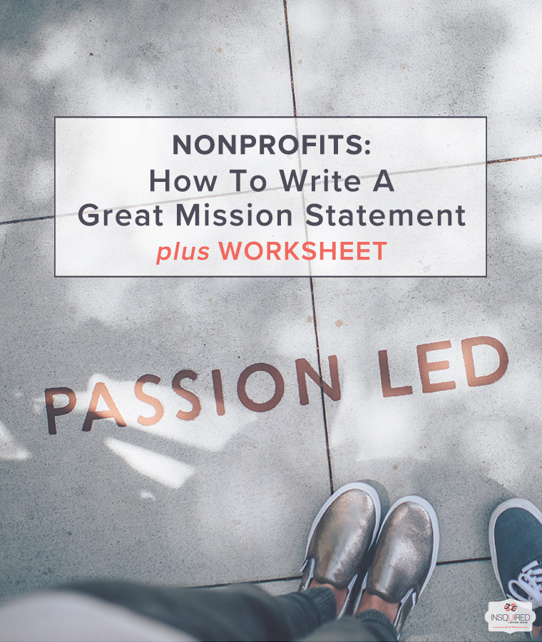 How to Write a Great Mission Statement