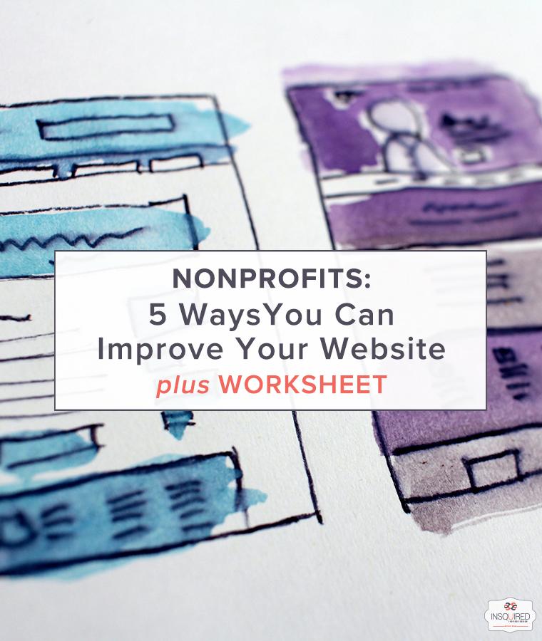 Nonprofit Website Design Tips