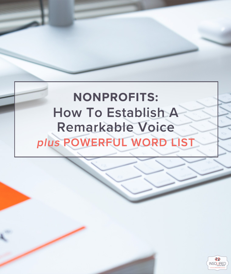 How To Establish A Remarkable Brand Voice for your Nonprofit