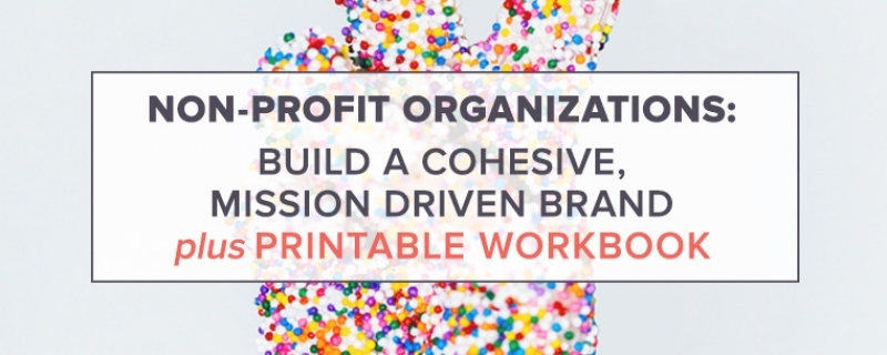 Non-Profit Organizations: Build a Cohesive, Mission Driven Brand